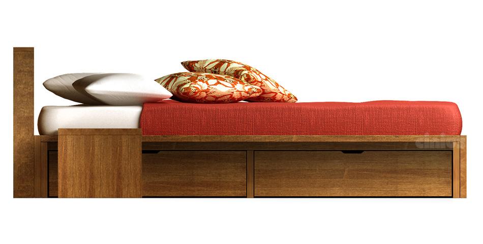 bett comodo. Black Bedroom Furniture Sets. Home Design Ideas