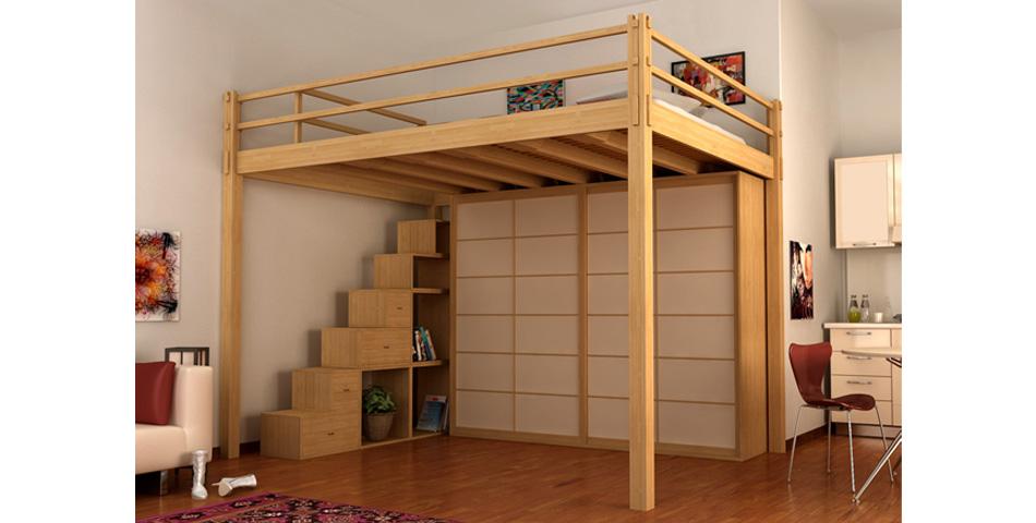 Soppalco legno fai da te immagine with soppalco legno fai - Costruire letto soppalco ...