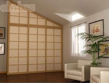 Shoji Sliding Doors Japan Fourniture Cinius