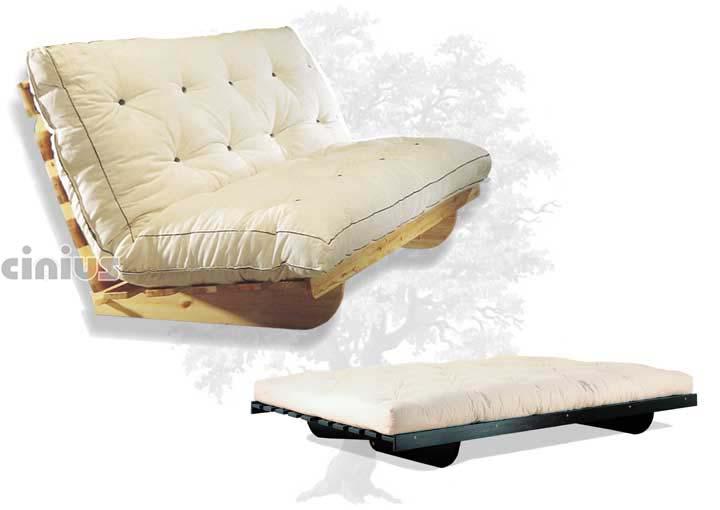 Bed sofa timo cinius for Divano giapponese