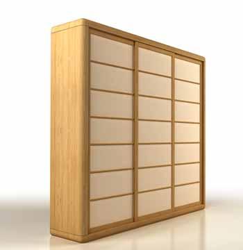 Cinius armoires portes coulissantes japonais shoji for Armoire style japonais