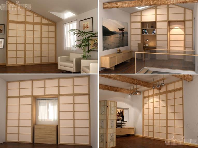 Cloison japonaise coulissante castorama maison design - Porte accordeon castorama ...