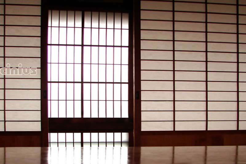 Cloison coulissante sur mesure id es de for Decoration porte japonaise
