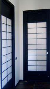 Cinius cloisons et portes coulissantes shoji for Porte zen fiber