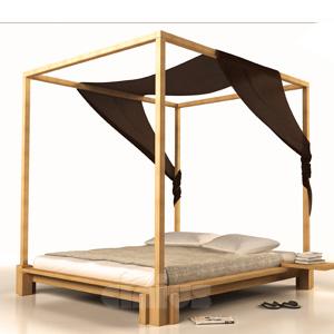 Lit en h tre massif lamell coll l assemblage se fait par pictures to pin on pinterest - Assemblage bois japonais ...