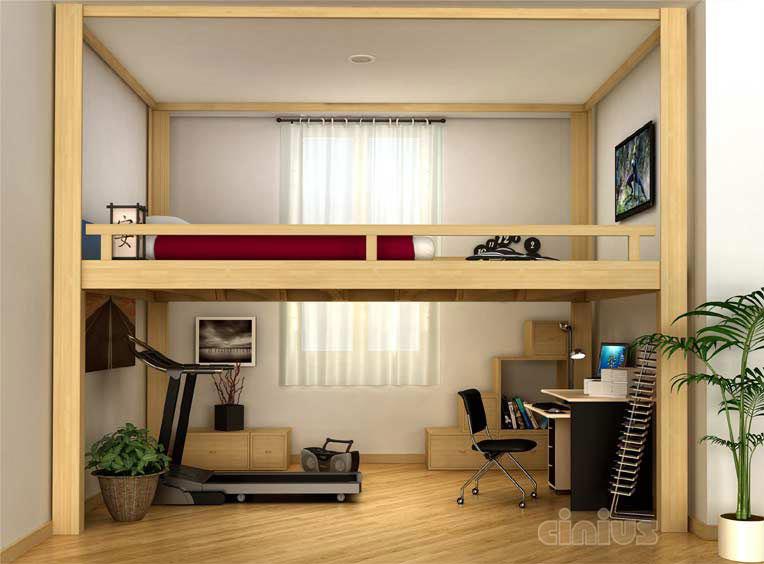 Mezzanine ou lit mezzanine rising - Ikea letti a soppalco ...