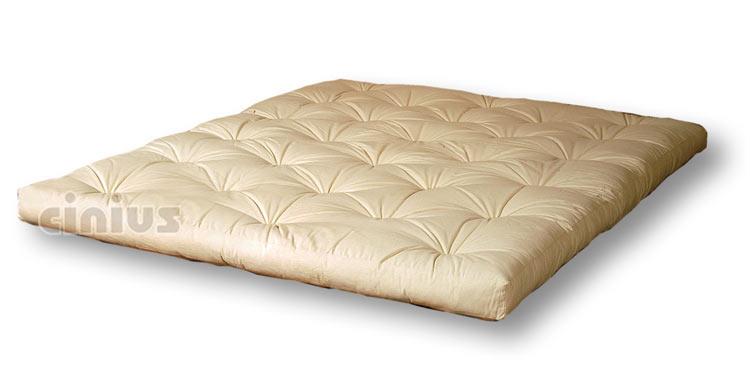 cinius futon matelas original japonais en fibre de coton dispos en couches avec insertions. Black Bedroom Furniture Sets. Home Design Ideas