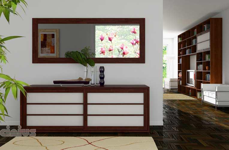 cinius meubles de rangement avec portes coulissantes
