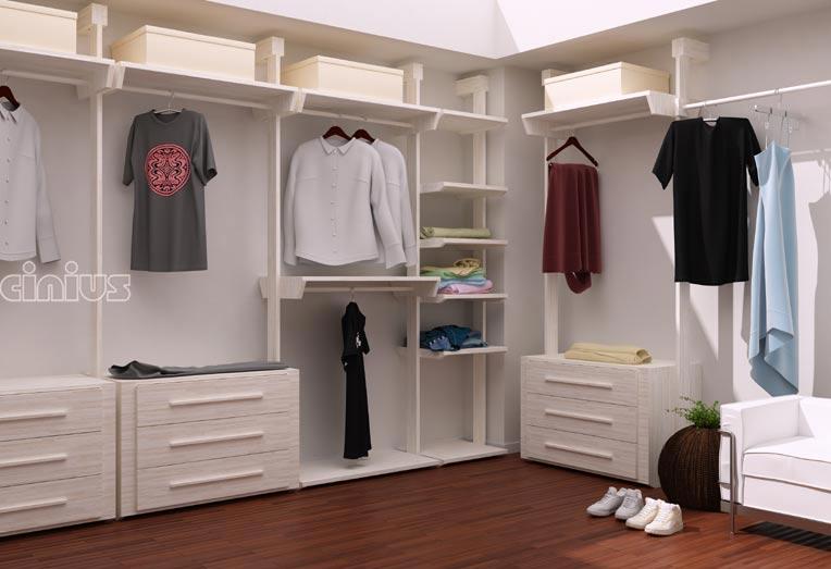 Cabine armadio online arredamento su misura cinius - Idee cabina armadio ...