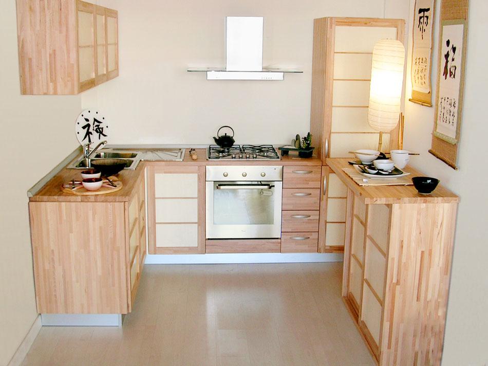 Offerte cucine su misura mobili e pensili stile giapponese - Mobili cucina su misura ...