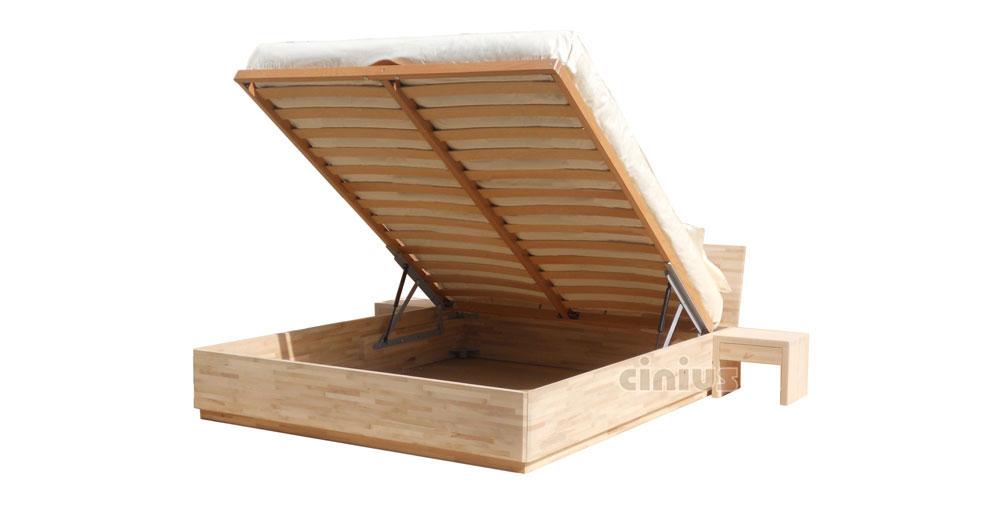 Letto box di cinius arredamento salvaspazio in legno massello - Sgravi fiscali acquisto mobili ...
