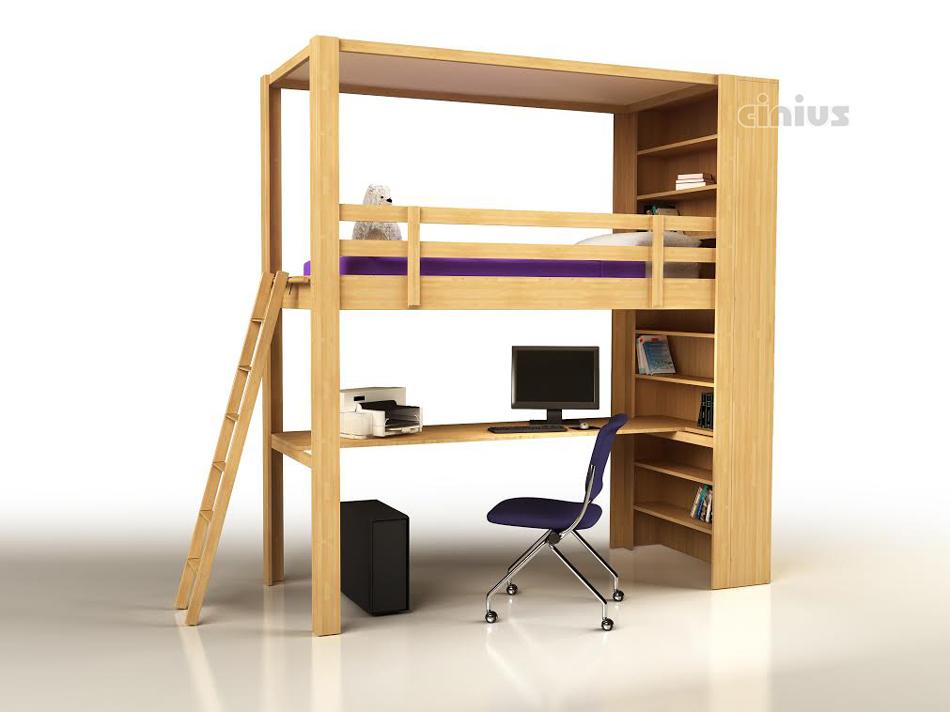 Letti a soppalco per bambini ikea design casa creativa e for Letto con soppalco