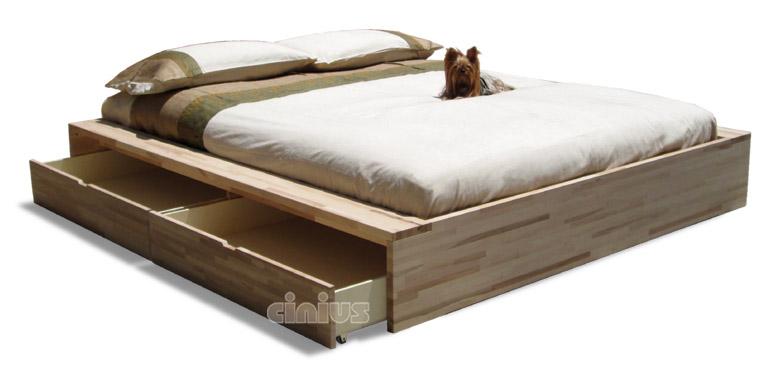 Cinius letto comodo - Cassetti sotto il letto ...