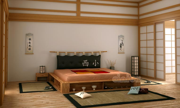 Cinius libroletto for Camere giapponesi