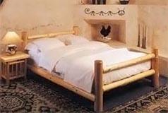 Letto con tronchi ~ la migliore scelta di casa e interior design
