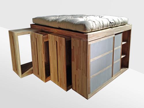 Cinius letto spazio dedicato a chi ama una linea essenziale - Sgravi fiscali acquisto mobili ...