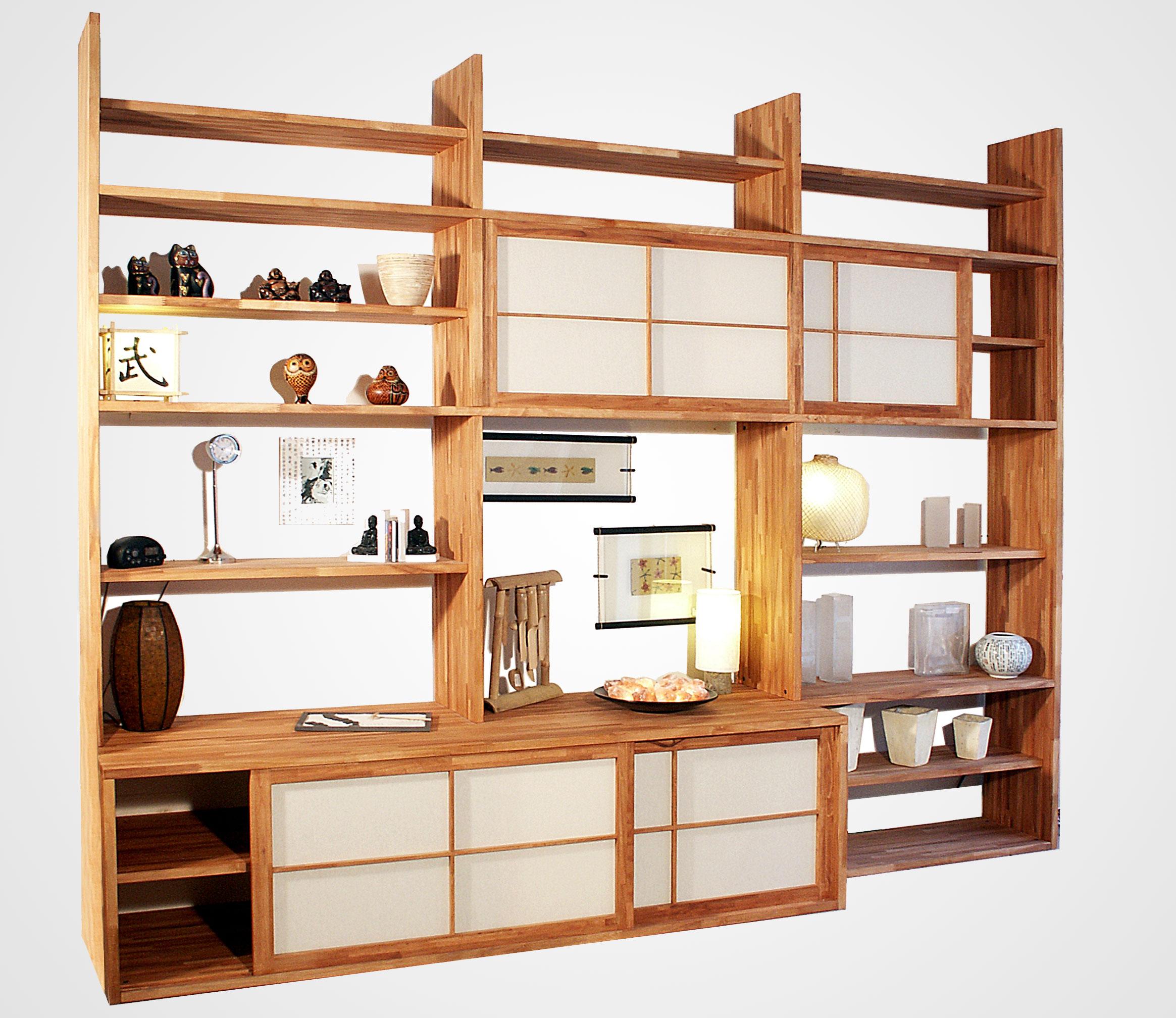 Librerie componibili e moderne in legno per casa e ufficio for Librerie in legno componibili