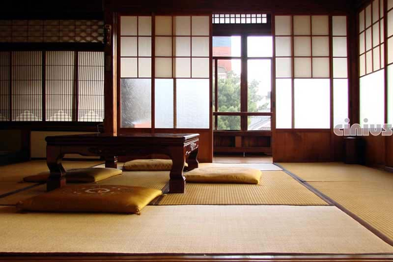 Cinius pareti e porte scorrevoli shoji tradizionali - Porte scorrevoli stile giapponese ...