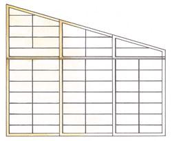 Cinius pareti e porte scorrevoli shoji tradizionali for Tetti giapponesi