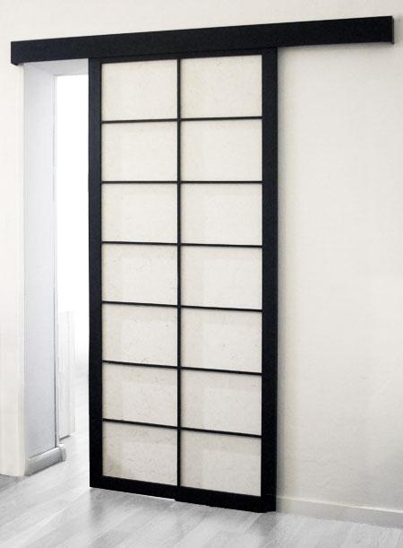 Porte scorrevoli o scomparsa sia per interni che esterni - Porte scorrevoli stile giapponese ...
