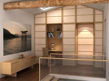 Soluzione porta parete 2 for Pareti giapponesi scorrevoli