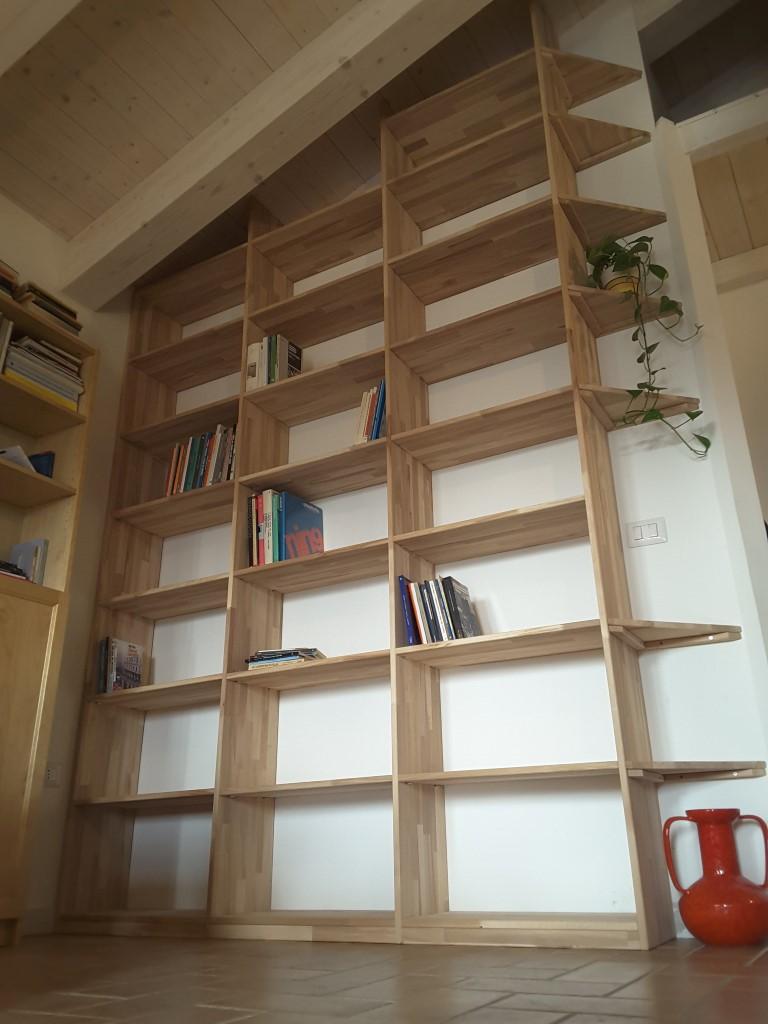 Beautiful Libreria Legno Grezzo Ideas - bery.us - bery.us