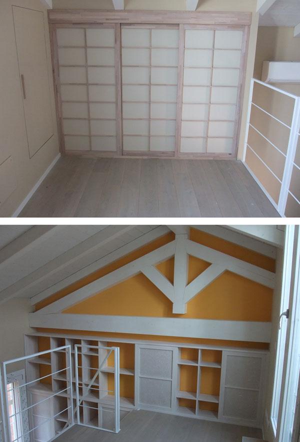 Soffitto Alto Soppalco: 31 progetti di soppalco in legno basso o per camere da letto.
