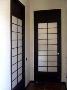 Cinius foto progetti realizzati di mobili su misura - Porte scorrevoli stile giapponese ...