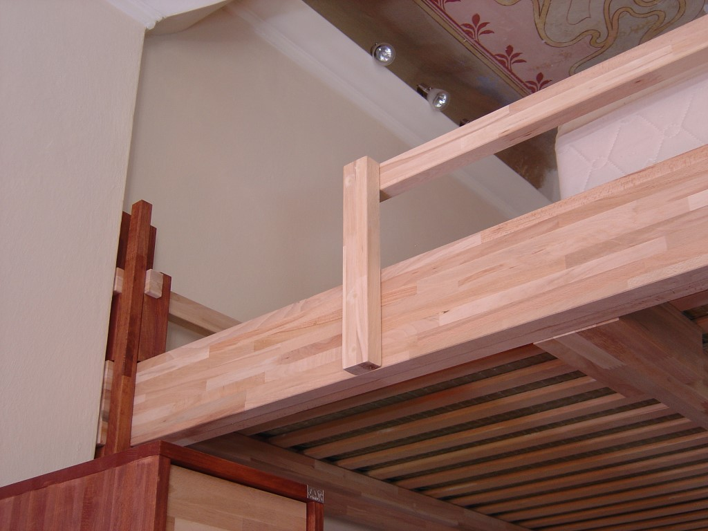 Cinius yen progetti realizzati - Construire une mezzanine suspendue ...