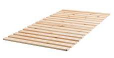 Reti a doghe matrimoniali o singole in legno su misura - Base a doghe ikea ...
