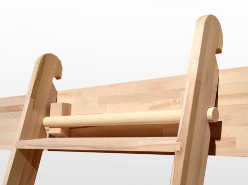 Scala a pioli for Coprigradini per scale in legno