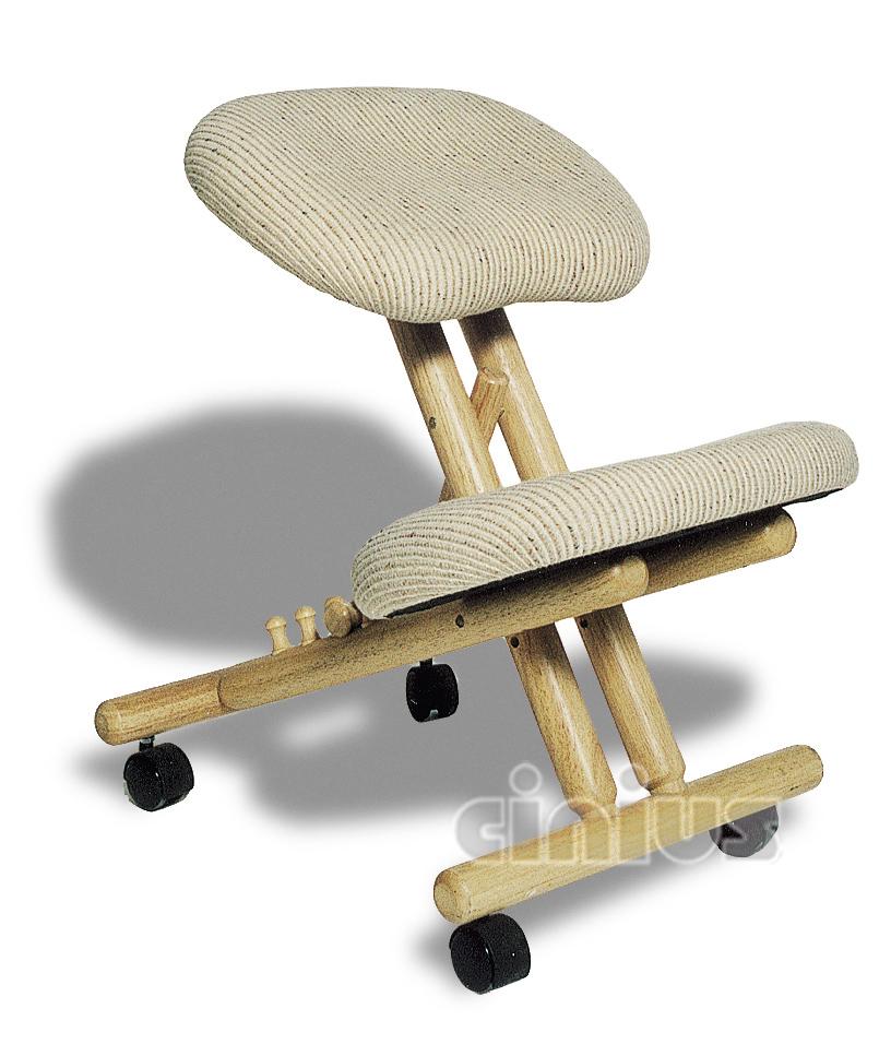 Sedie cinius sedute ergonomiche poltrone e sgabelli for Sedia ufficio ginocchia