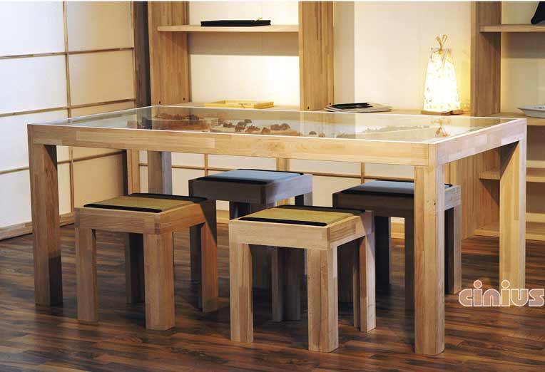 Cinius tavoli e sedie mobili e complementi d 39 arredo in stile giapponese prodotti su misura - Deco mobili tavoli e sedie ...