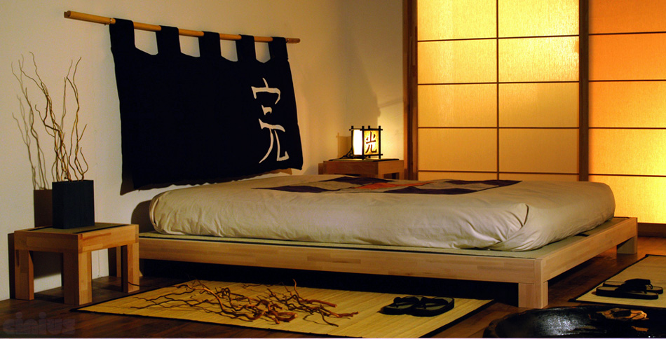 bett tatami bed cinius. Black Bedroom Furniture Sets. Home Design Ideas