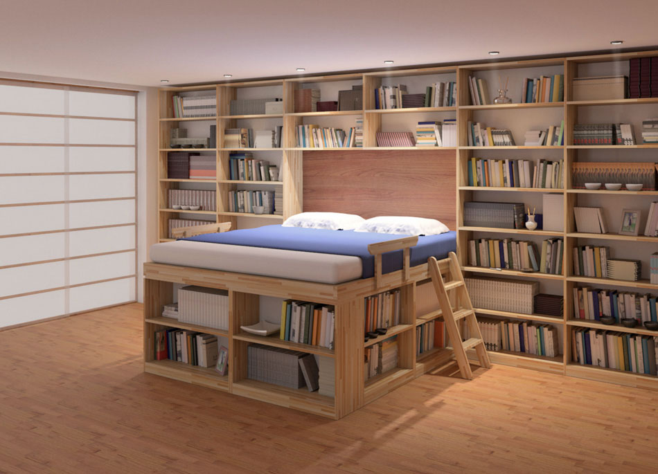 Bed Biblioteca Cinius