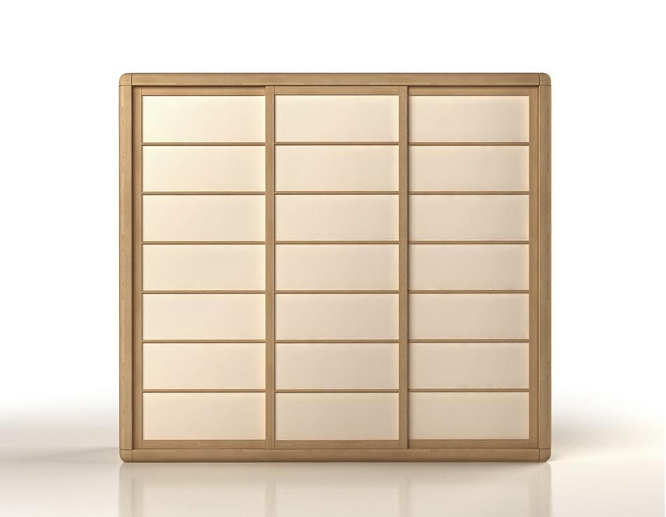 Ante Scorrevoli In Plexiglass.Wardrobe Arca Japan Fourniture Cinius