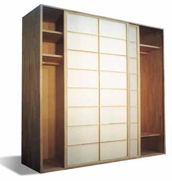 Cinius Armoires A Portes Coulissantes Japonais Shoji Armoires En Style Japonais Armoires En Bois Meubles Sur Mesure