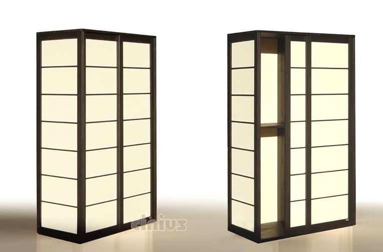 cinius armoire shoji portes coulissantes japonaises. Black Bedroom Furniture Sets. Home Design Ideas