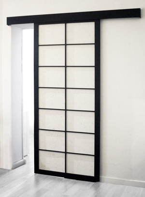 porta scorrevole shoji fronte. Black Bedroom Furniture Sets. Home Design Ideas