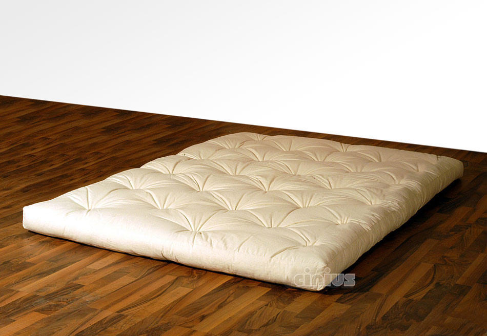 cinius futon matelas original japonais en fibre de. Black Bedroom Furniture Sets. Home Design Ideas