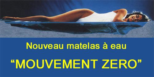 Cinius Matelas A Eau Mouvement Zero Hydromatelas Avec