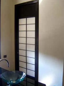 Cinius photos projets r alis s avec meubles sur mesure for Meuble japonais portes coulissantes