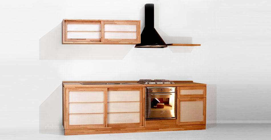 Offerte cucine su misura mobili e pensili stile giapponese