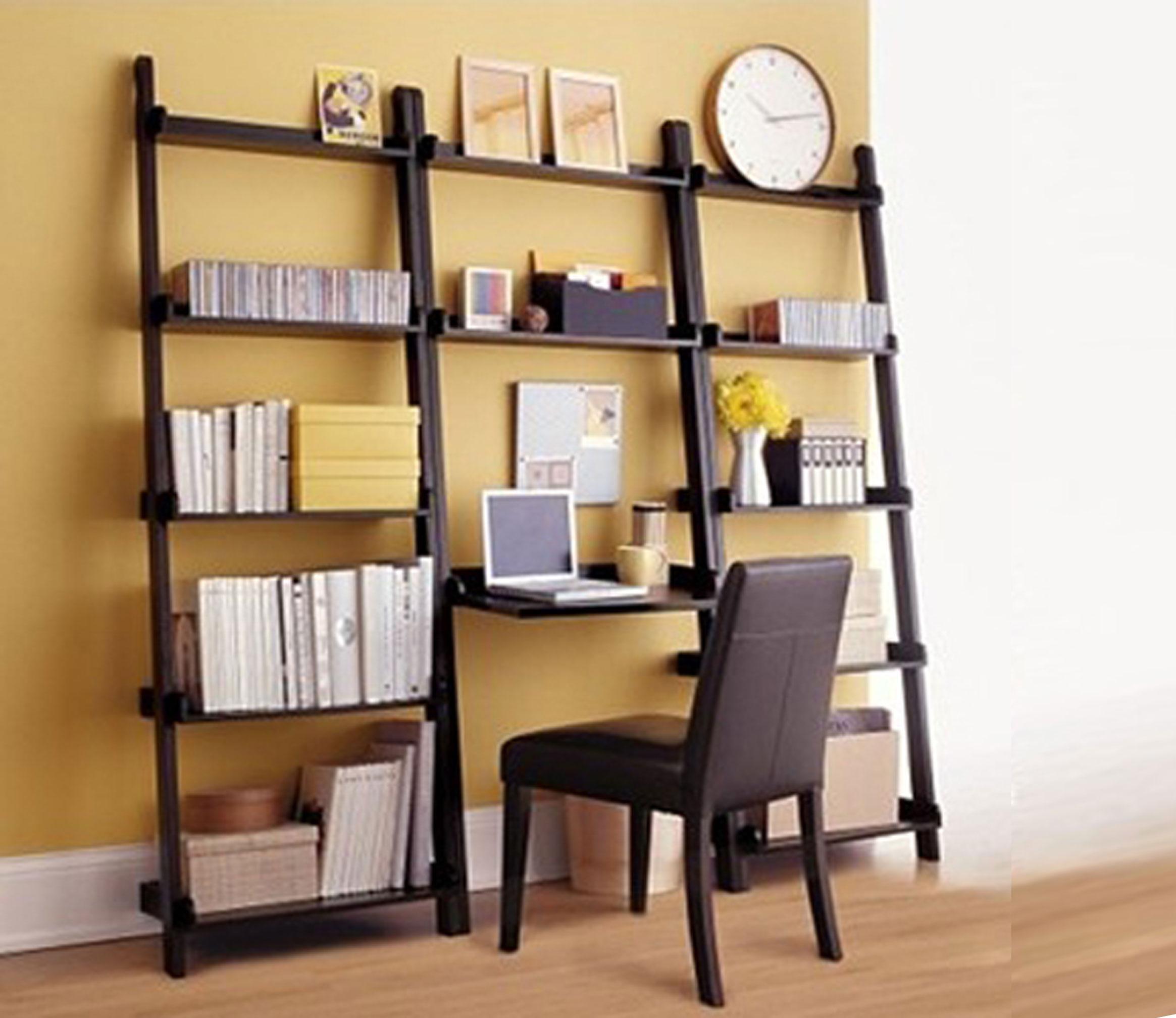 Librerie componibili e moderne in legno per casa e ufficio for Libreria a scala ikea
