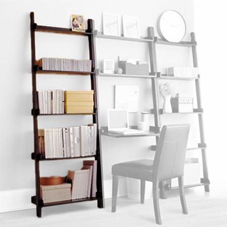 Libreria A Muro In Legno.Librerie Da Appoggio Cinius Modelli Yat E Scaletta In Legno Massello