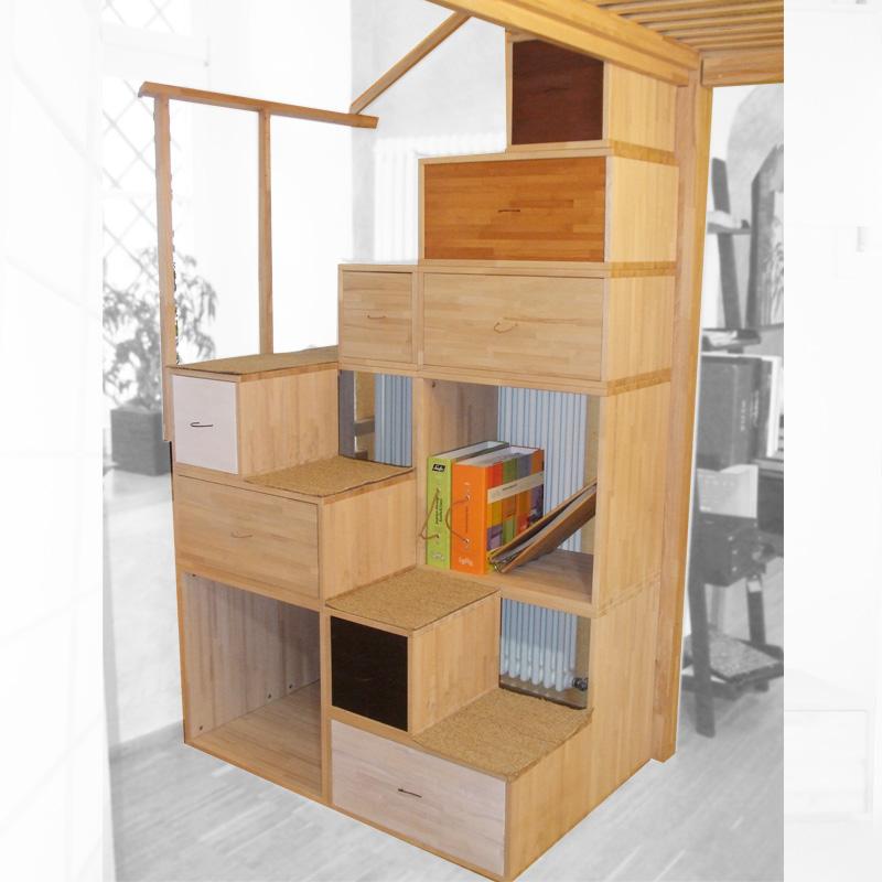 Librerie scala yen di cinius - Mobile ikea cubi ...