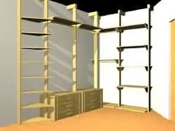 Cinius progetti disegni di mobili letti a soppalco cabine armadio pareti scorrevoli e - Ikea armadio ad angolo ...