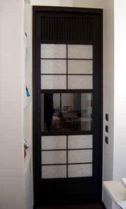 Cinius foto progetti realizzati di mobili su misura - Porta scorrevole giapponese ...