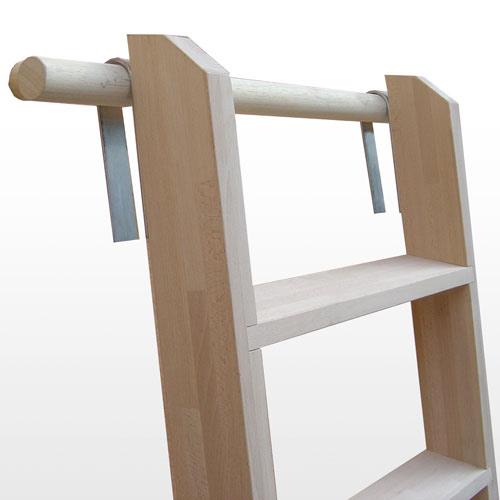 Scala a pioli for Scale per librerie in legno