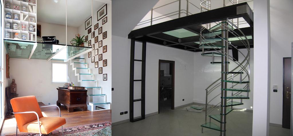 Il soppalco in legno come soluzione salvaspazio in casa cinius - Progetto letto a soppalco ...
